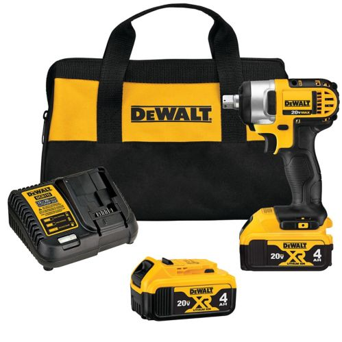 DEWALT XR20V Max Li-Ion Cordless Impact Wrench, 1/2-in Product image