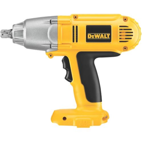 DEWALT 18V NiCad Cordless Impact Wrench, 1/2-in, Tool Only Product image