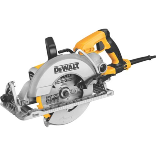 DEWALT 15A Worm Drive Circular Saw, 7-1/4-in Product image