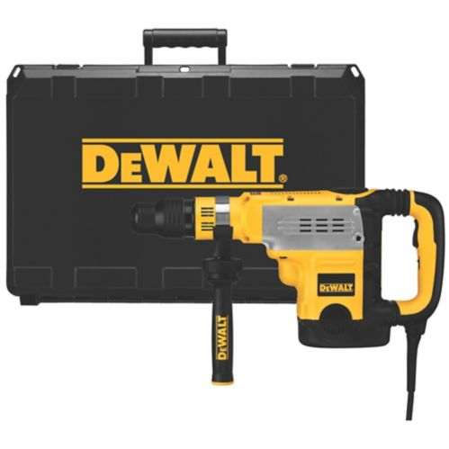 DEWALT 135A Combination Hammer with 2-Stage Clutch/E-Clutch and SDS+, 1-7/8-in Product image