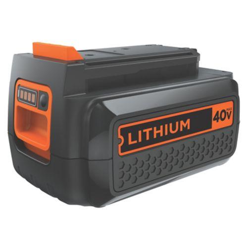 Batterie au lithium-ion Black & Decker 40 V MAX