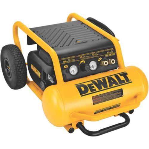Compresseur d'air DEWALT, en continu, 200 lb/po2, 4,5 gal Image de l'article