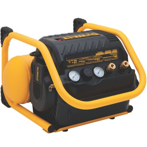DEWALT 25 Gallon Heavy Duty Quiet Trim Air Compressor, 200 PSI Product image