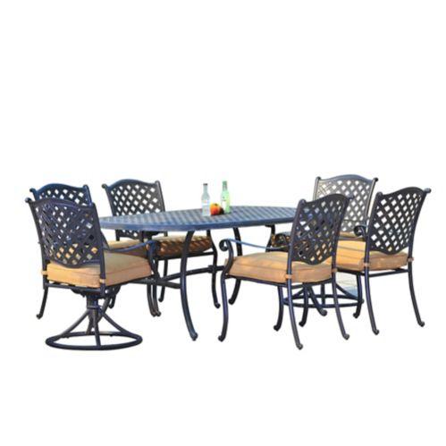 Sunjoy Regency Dining Set, 7-pc Product image