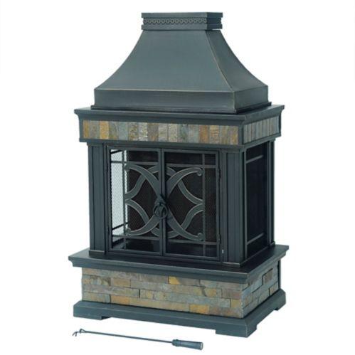 Sunjoy Indio Outdoor Fireplace