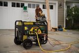 Champion 7200W / 9000W Dual Fuel Portable Generator with Power Cord | Champion Pwr Equipnull