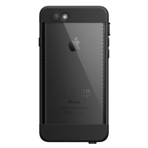 LifeProof iPhone 6 Clear/Black Nuud Case Product image