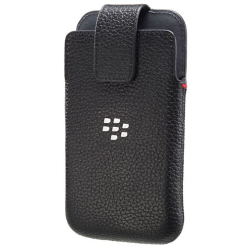 BlackBerry Classic OEM Black Leather Holster Product image
