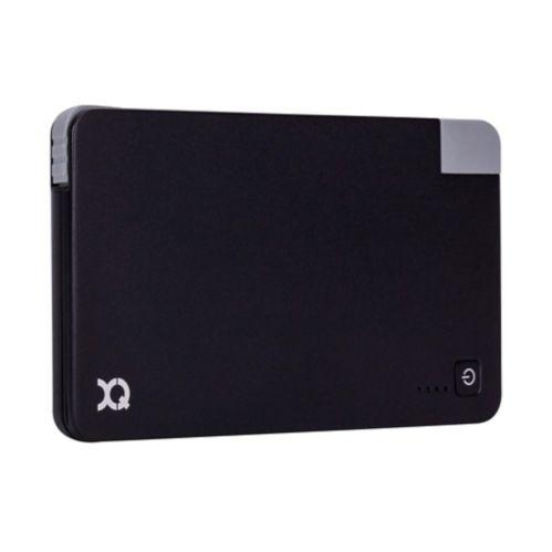 Chargeur Xqisit avec technologie Lightning, noir, 3 000 mAh Image de l'article
