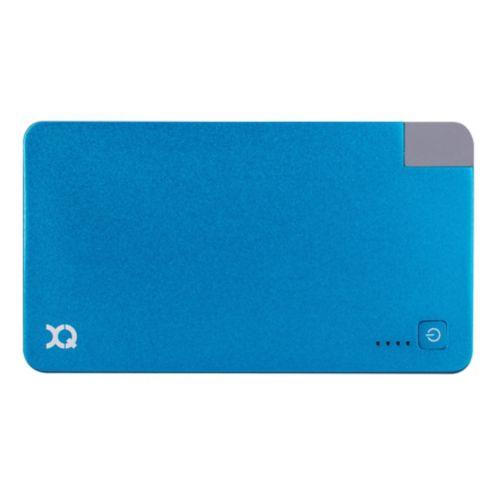 Chargeur Xqisit avec technologie Lightning, bleu, 3 000 mAh