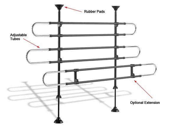 Rallonge de barrière tubulaire pour animaux WeatherTech®
