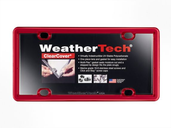 WeatherTech® ClearCover® License Plate Frame Product image