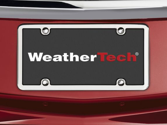 WeatherTech® StainlessFrame™ License Plate Frame Product image