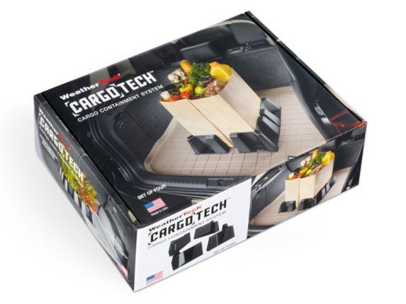 Système de cargaison WeatherTech® CargoTech®, noir, paq. 4 Image de l'article