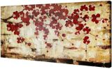 CANVAS Edge Printed Floral Painting, 30-in x 60-in | Images 2000 Incnull