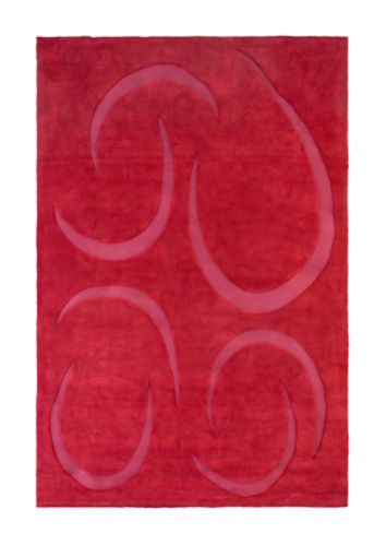 Korhani Chinook Rug, Red, 5 x 8-ft Product image