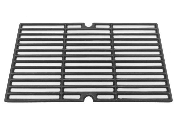 Cast Iron Cooking Grate, Matte Porcelain, 18.5 x 10.75 x 0.78-in