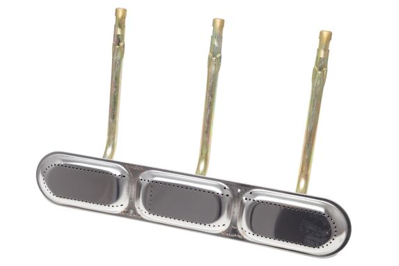 MASTER Chef Stainless Steel Triple Bar Burner, 52 x 36 x 14.5-cm Product image