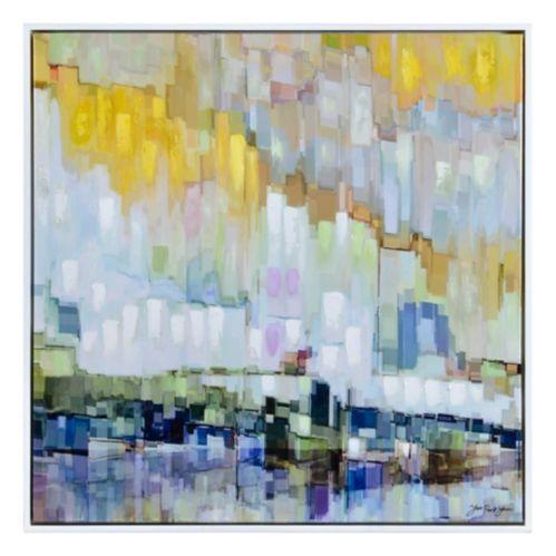 Art mural sur toile Renwil Blue Belt, 40 x 40 x 1,5 po Image de l'article