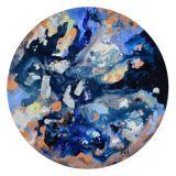 Art mural sur toile Renwil Celestina, 18 x 18 x 1,5 po | Ren-wilnull