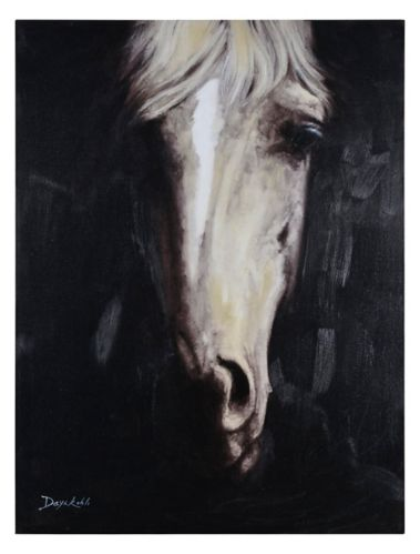 Art mural sur toile Renwil Carnelian I, 30 x 30 x 1,5 po