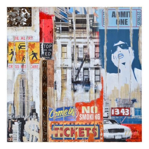 Renwil 115 Bank Street Wall Art, 31.5 x 31.5 x 1.5-in Product image