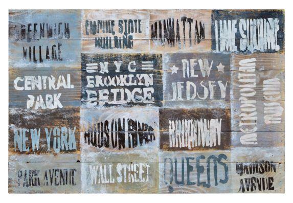 Renwil Manifesto Wall Art, 36 x 24 x 2-in