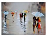 Renwil Rawhide Rain Canvas Wall Art, 47 x 35 x 1.5-in   Ren-wilnull
