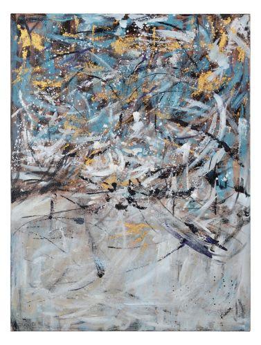 Art mural sur toile Renwil Attle, 36 x 48 x 1,5 po