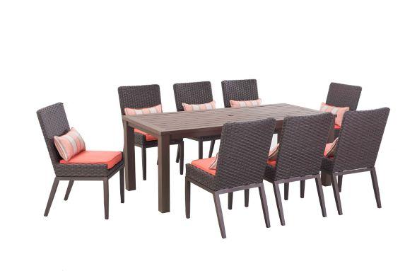 Sunjoy Antigua Dining Set, 9-pc Product image