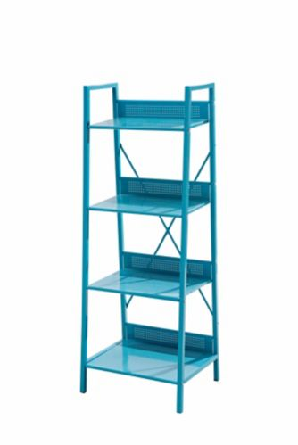 Sunjoy Coloured Shelving Unit, 19.3 x 15.3 x 52-in