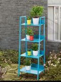 Sunjoy Coloured Shelving Unit, 19.3 x 15.3 x 52-in | Sunjoynull