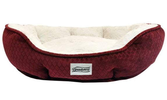 Simmons Beautyrest Subtle Seat with Memory Foam Pet Bed