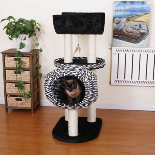 PetPals Spade Cat Tree, 46-in Product image