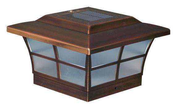 Lampes de poteau Classy Caps Prestige, paq. 2