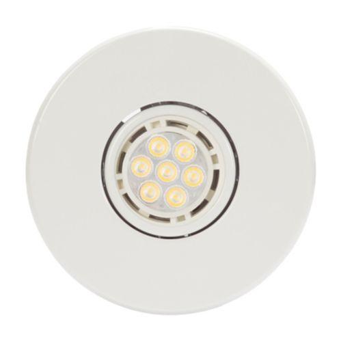 Globe LED Recessed Lights, White, 4-in, 4-pk