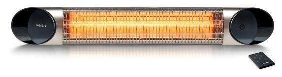 Radiateur à infrarouges Veito pour l'intérieur et l'extérieur