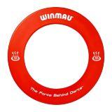 Winmau Red Dartboard Surround, Red | Winmaunull