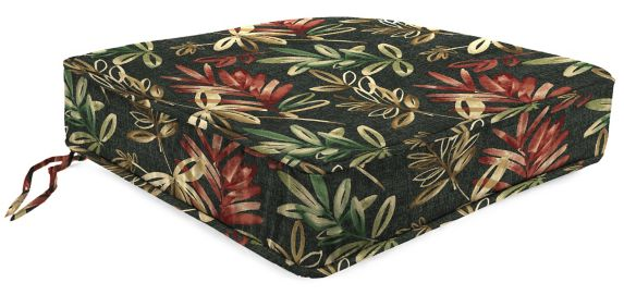 Coussin de siège profond en polyester filé