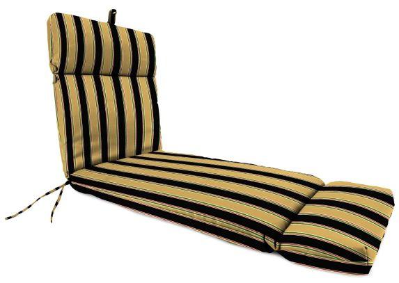 Coussin de chaise longue universel en polyester filé
