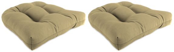 Sunbrella Wicker Seat Cushions, 2-pk