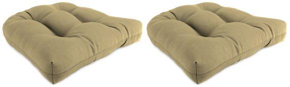 Sunbrella Cushions, Beige, 2-pk Product image