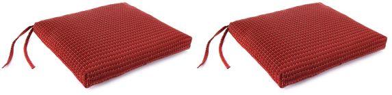 Woven-Olefin Seat Cushions, 2-pk