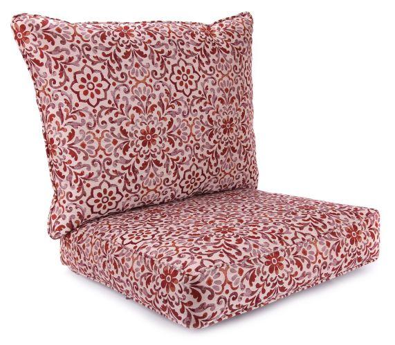 Woven-Olefin Deep Seat Chair Cushion, 2-pc Product image