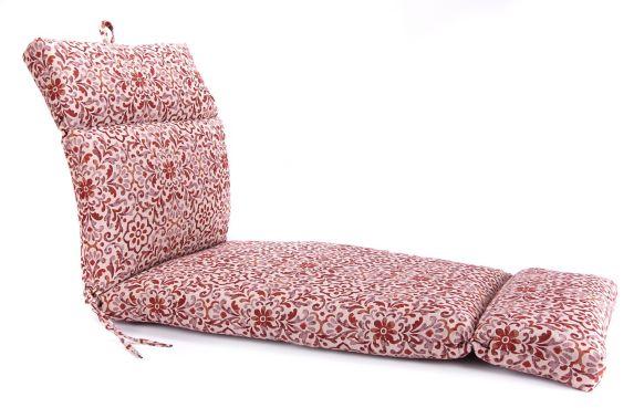 Coussin de chaise longue universel en oléfine tissée