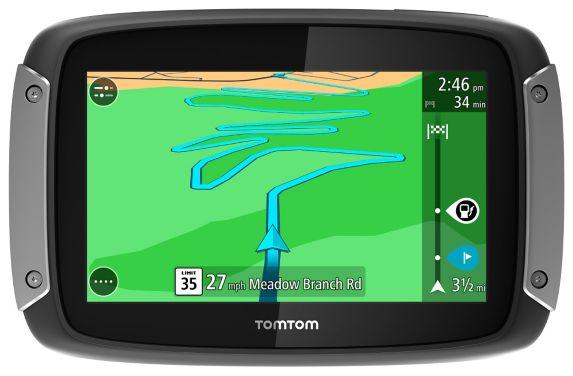 TomTom Rider 400 NAM Motorcycle Car GPS, 4.3-in