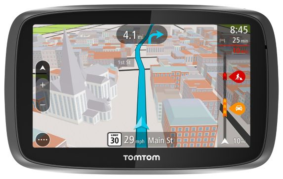 TomTom GO 500 Car GPS, 5-in