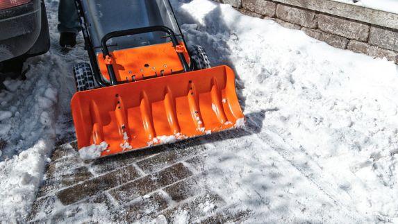 Snow Plow Attachment for Worx Aerocart