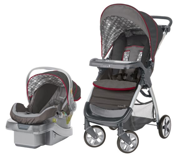 Safety 1st Amble Luxe Travel System, Tangiers