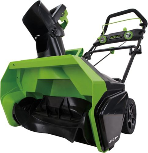 Greenworks 20 in Electric Snow Thrower, 40V